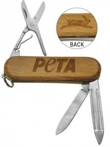 Knives to be allowed on flights now? Get your TSA-approved PETA knife to take with you on your travels!