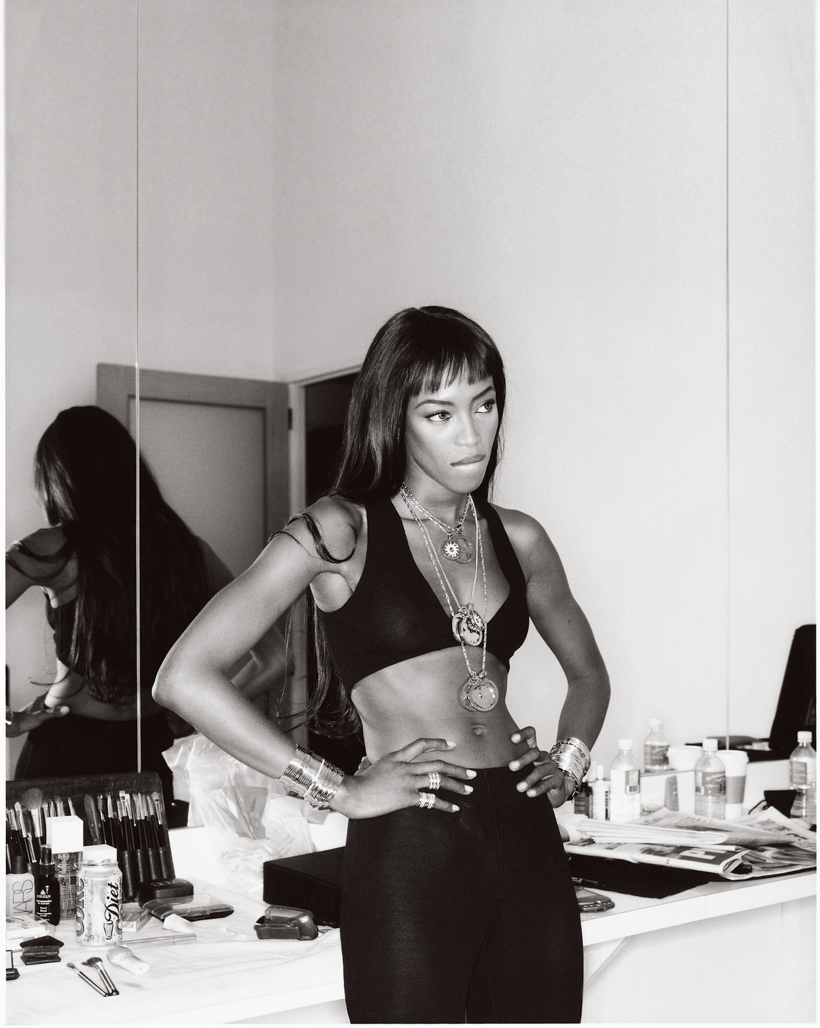 Naomi Campbell by Gilles Bensimon