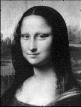 NASA Beams Mona Lisa to the Moon Because Lasers Using a new kind of laser communication device, NASA transmitted an image of the Mona Lisa to the Lunar Reconnaissance Orbiter, a 240,000 mile broadcast. Communicating from Earth across great distances in space can difficult because of signal loss and distortion by the atmosphere. Radio waves work pretty well, but lasers can serve as a backup and possibly carry even more information than previous methods. It isn't faster, because the speed of light is the speed of light, but it has potential to be more useful. Can you imagine a deep space network of space laser broadband? It's like Star Trek!