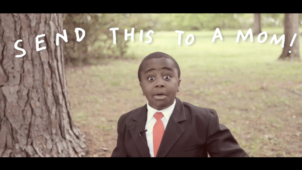 New video! Kid President sends a special message to moms everywhere: watch here!