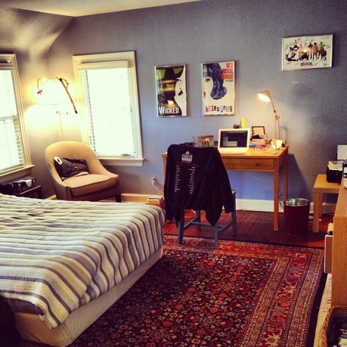 New room layout! #fancycarpet