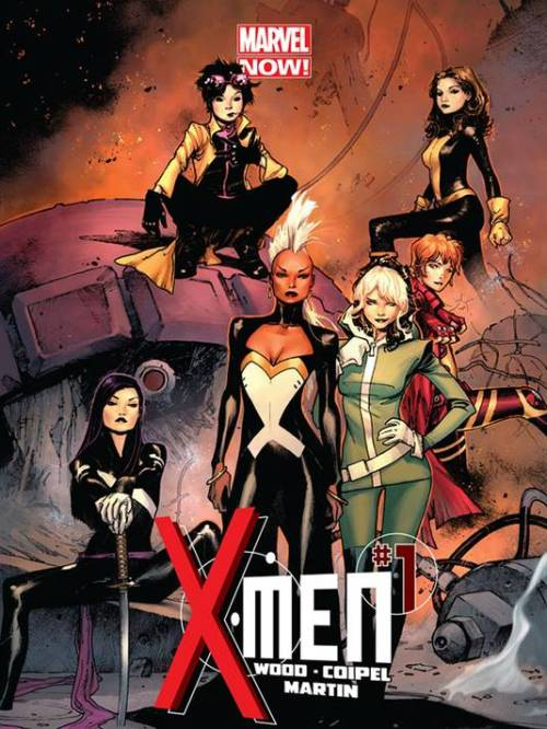 colorlust:  So Brian Woods & Olivier are relaunching X-men like we suspected, but they caught me off guard by literally having my favorite characters all in one book.  The only way to make me more excited would be to have a NXM lady come hang out as well. I guess saving up all the karma from having all of my favorite books cancelled throughout the years has finally paid off. JUBILEEEEEEE  I'm glad Storm is finally getting her revenge for not being cast in Heralds 3 years ago.