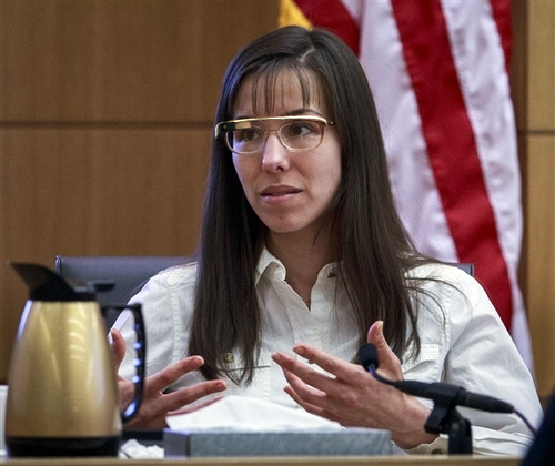 I photoshopped Jodi Arias wearing Google Glass because they are both things that people care about right now.