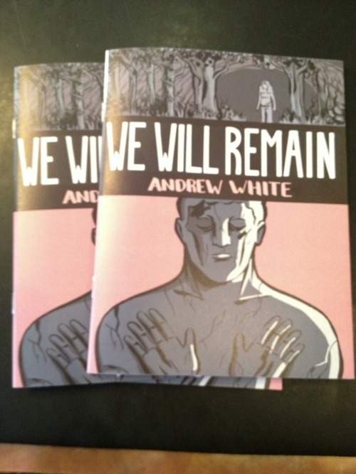 Andrew White's We Will Remain, published by Retrofit