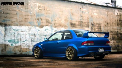 gearshifter:  2.7 stroked Fuji Heavy Industries GC RSti Via Proper Garage
