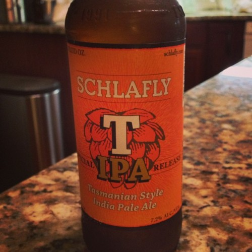 Only 5 @Schlafly TIPAs left now.  #schlafly #tipa