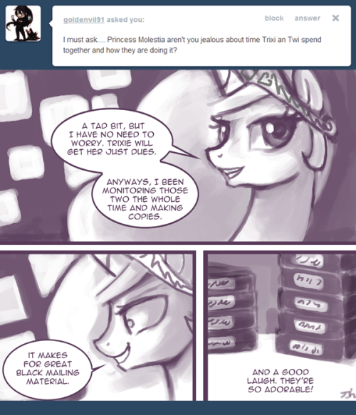 Ask Princess Molestia #262