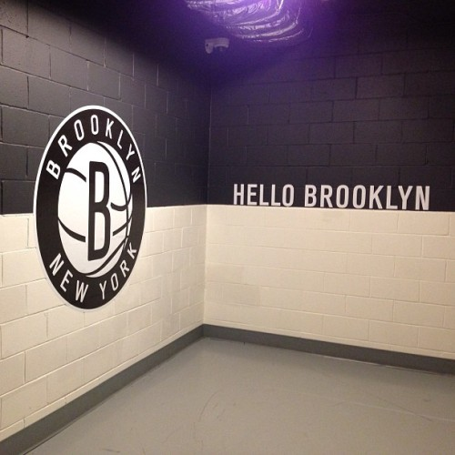 Hello Brooklyn (at Barclays Center)