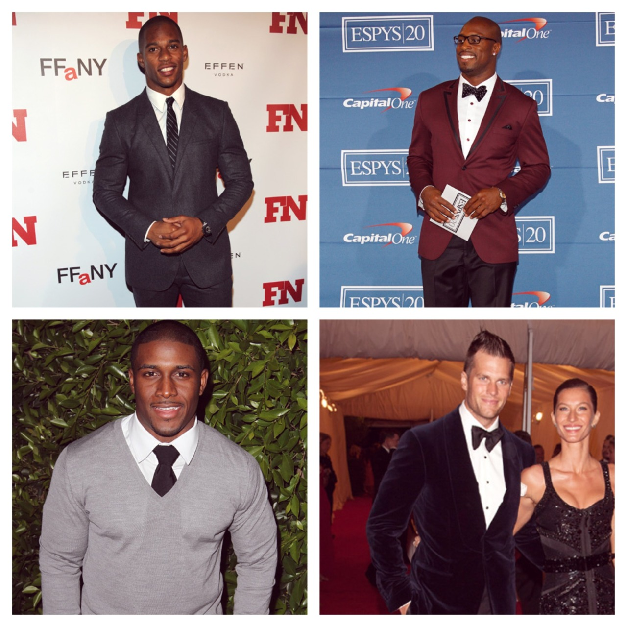 The NFL's Best Dressed  We compiled a list of the NFL's best dressed players in honor of tomorrow's Super Bowl.   See the entire list on our Facebook > http://mr-p.co/iyXXid