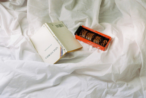 Salinger and chocolate. by +++ponyrock+++ on Flickr.