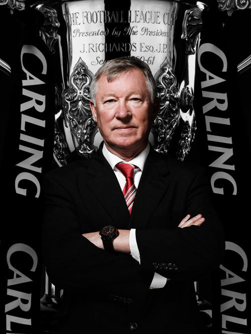 paidandplayed:  Sir Alex Ferguson. 26 1/2 years, 13 Premier League championships, 5 FA Cups, 4 League Cups, 2 Champions League titles for Manchester United. Photographed by Hamish Brown.