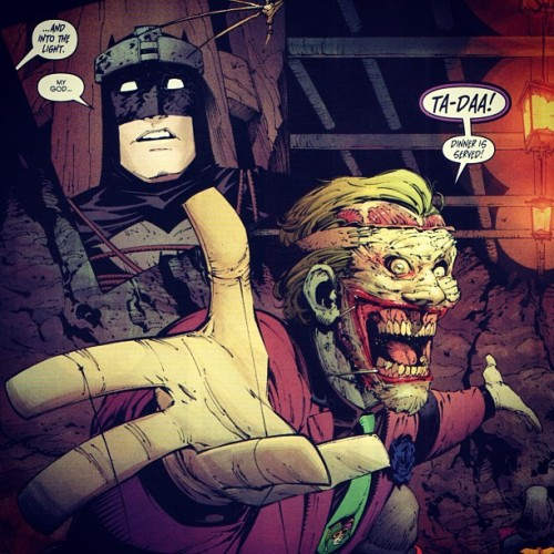 Honestly the best written story in ages #batman #joker #dc #deathofthefamily