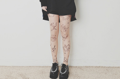 Tattoo tights~
