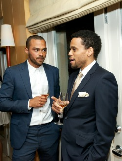 terrencecosby:  Jesse Williams and Michael Ealy.