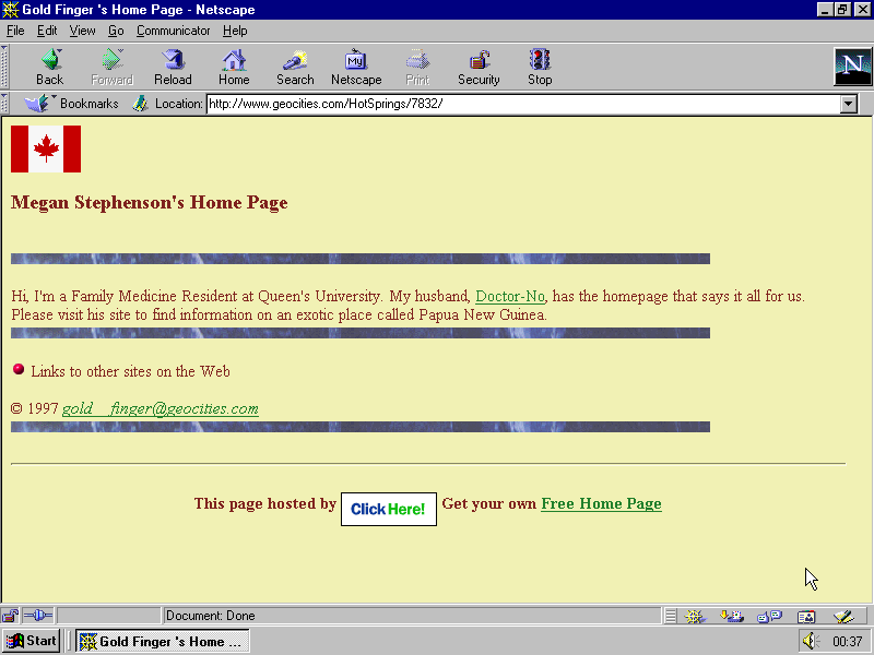 original url http://www.geocities.com/HotSprings/7832/  last modified 1997-10-06 00:41:18