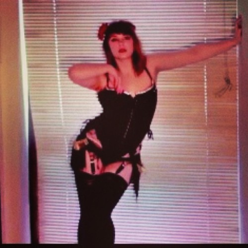 Picture from a Video shoot #videoshoot #burlesque
