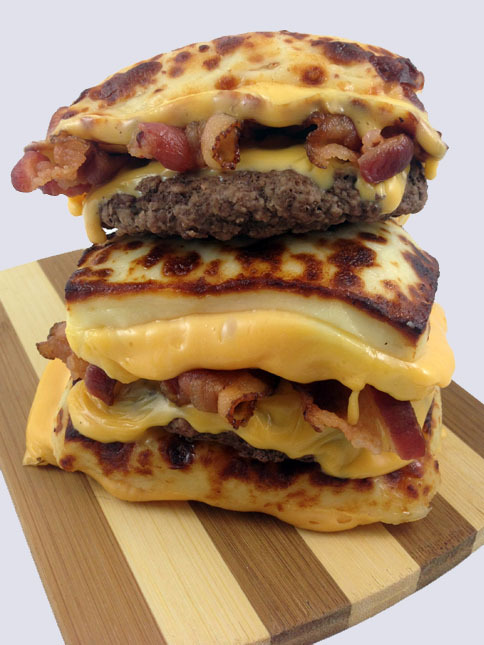 The Bread Cheese Bacon  Double Cheeseburger No.