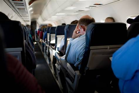 FCC urges FAA to rethink electronic-devices-on-planes rule (Photo: John Brecher / NBCNews.com) Air travelers who dread the moment when they have to turn off their smartphones and tablets on planes appear to have a powerful ally in the quest to change the rules: the government. Read the complete story.