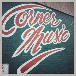Thanks to JD @cornermusic for fixing my guitar this morning.  I'll be coming back!   (at Corner Music)