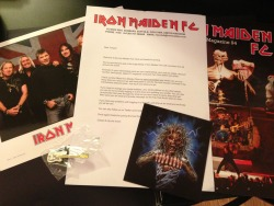 Iron Maiden Fan Club kit