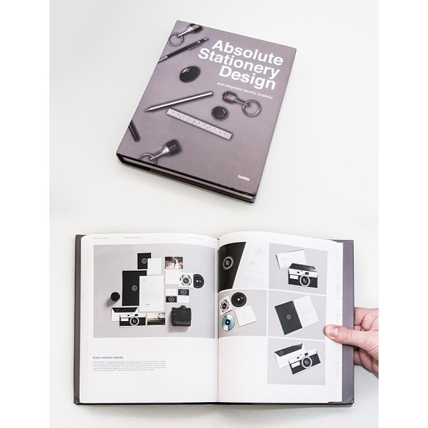Features in Absolute Stationary Design by Sandu. #design #feature #book #stationary #print