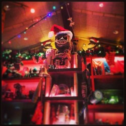 Merry Christmas! Mele Kalikimaka!  skalalala:  Tiki tiki #tiki #tradersams #anaheim #downtowndisney #bar (at Trader Sam's Enchanted Tiki Bar)