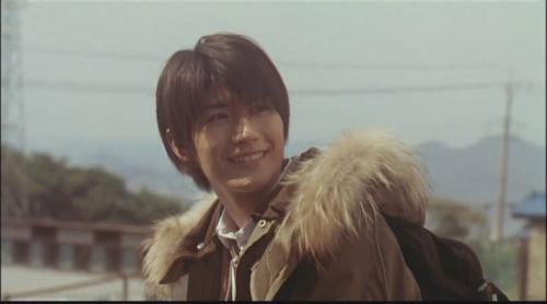 Miura Haruma as Kazehaya Shota in Kimi ni Todoke Live Action Movie I love his smile~~ :) :)