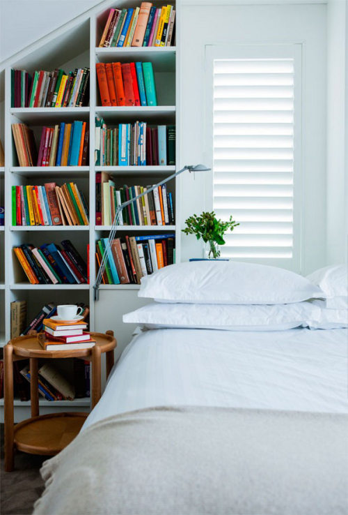 myidealhome:   reading in bed (via desire to inspire)