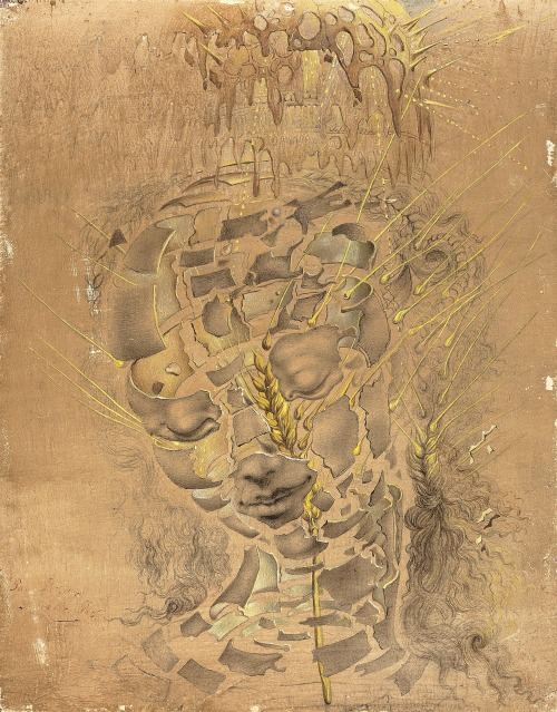 Salvador Dalí (1904-1989)Study for the Head of the Virgin The Art of the Surreal