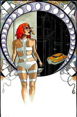 Leeloo Dallas by Anne LaClair