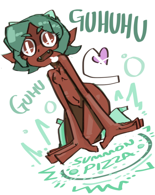 nougats:  guhu the guhuhu for summon pizza