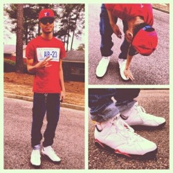 Earlier today wit my Cardinal 7s by Tyriq on EyeEm