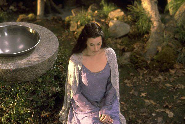 fuckyeahlotrcast:  A deleted scene with Arwen in Lorien