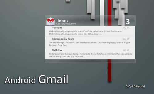 Android 4.0 Gmail | v1.5 by ~KreDoc *to use this on your windows, read this.