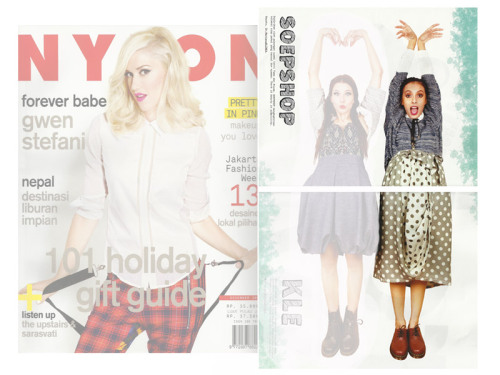 SOEPSHOP in NYLON Indonesia