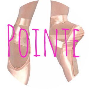 dancescouts:  Point Badge Condition of reblog: Been up on point.