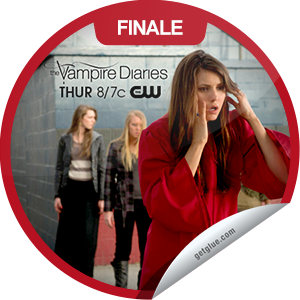 I just unlocked the The Vampire Diaries: Graduation sticker on GetGlue                      5353 others have also unlocked the The Vampire Diaries: Graduation sticker on GetGlue.com                  The dead have arrived just in time for graduation. Thanks for watching the season finale of TVD, you've unlocked the 'Graduation' sticker. Share this one proudly. It's from our friends at The CW.