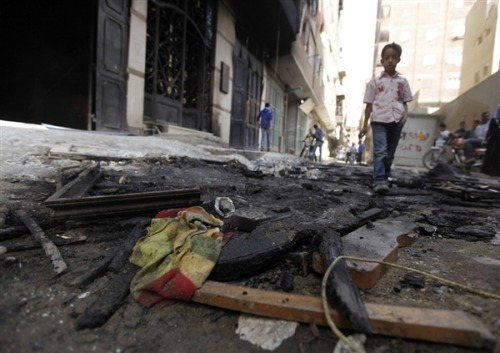 Five Egyptians killed in clashes between Christians, Muslims (Photo: Amr Abdallah Dalsh / Reuters) Five Egyptians were killed and eight wounded in clashes between Christians and Muslims in a town near Cairo, security sources said on Saturday, in the latest sectarian violence in the most populous Arab state. Read the complete story.