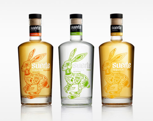 Daily Inspiration - Suerte Tequila Packaging Check us out at www.owlrepublic.com
