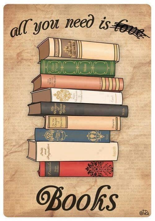 'All you need is books'