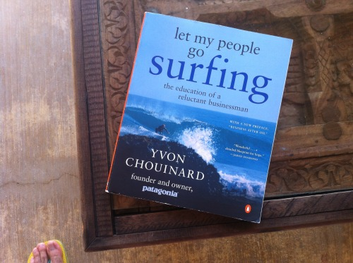 Book Review: Let My People Go Surfing I picked up a copy of Let My People Go Surfing, by Patagonia's founder, Yvon Chouinard over a year ago and it sat one my shelf as other books found their way to my hands. As we prepared to head out for our second annual February in the Sun - Holstee team retreat it seemed like the perfect book to read. I started reading the book on a ride to a glass factory outside of Oaxaca city, continued reading snaking through the hills riding up to San Jose Del Pacifico, and just finished the last few pages steps from the ocean in Puerto Escondido under the palm leafed roof our our Palapa. Had the stories and lessons from the book not clicked so perfectly to my experiences at Holstee, I would have been blush by the cliche of reading it while on such an environmental and business adventure. Starting with the history of Patagonia, Yvon talks about their struggles and great successes in their early years as a climbing hardware company (now know as Black Diamond) to the eventual growth of the active wear company we know today. The next few chapters focused on specific philosophies they have developed at Patagonia on everything from Design, to Production, to Finance to the Environment.  It was encouraging to hear the challenges they faced in their early years from designing, to materials to identifying the right product market fit and above all inspiring, as I read it here with our team as we plan for many more years of excitement.  In growing Holstee over the past three years we have experienced a lot. Many things went as planned, though most did not. But at every step it has been an exciting and educational ride for us and hopefully for our community as we share more about how and why we make the decisions we do as a company, and in our lives. If the journey itself is the goal, then by my own measure, it continues to be an overwhelming success.