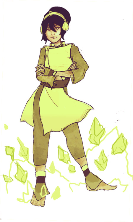 Quick sketch of the world's greatest earthbender
