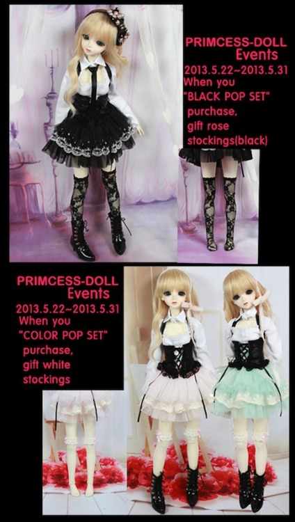 Princess Doll - Gift with 1/3 Girl Pop Sets May 22 ~ May 31