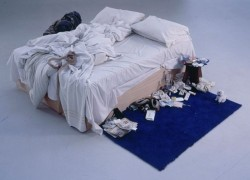 My bed, Tracey Emin, 1998