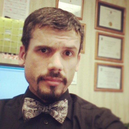 #TGIF!! I know it's casual Friday, but w/e, I do what I want! #bowtie #fun #style  (at Haul-All Equipment)