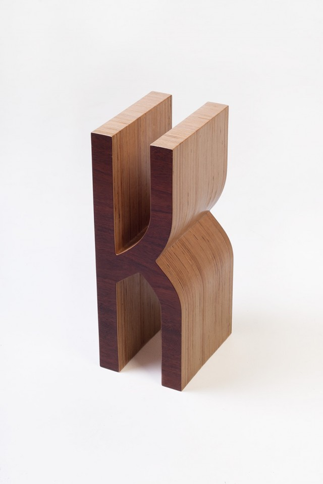 melazcosmo:  Typographic Bookshelf by Matt Innes