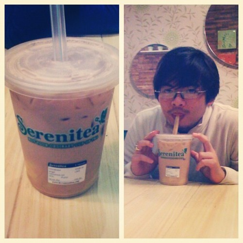 GIANT SERENITEA!!! Free upgrade!!! Its one of the awesomest things ever!!!