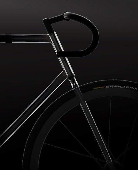 takeovertime:  (via Clarity Bike transparent bicycle by Designaffairs)