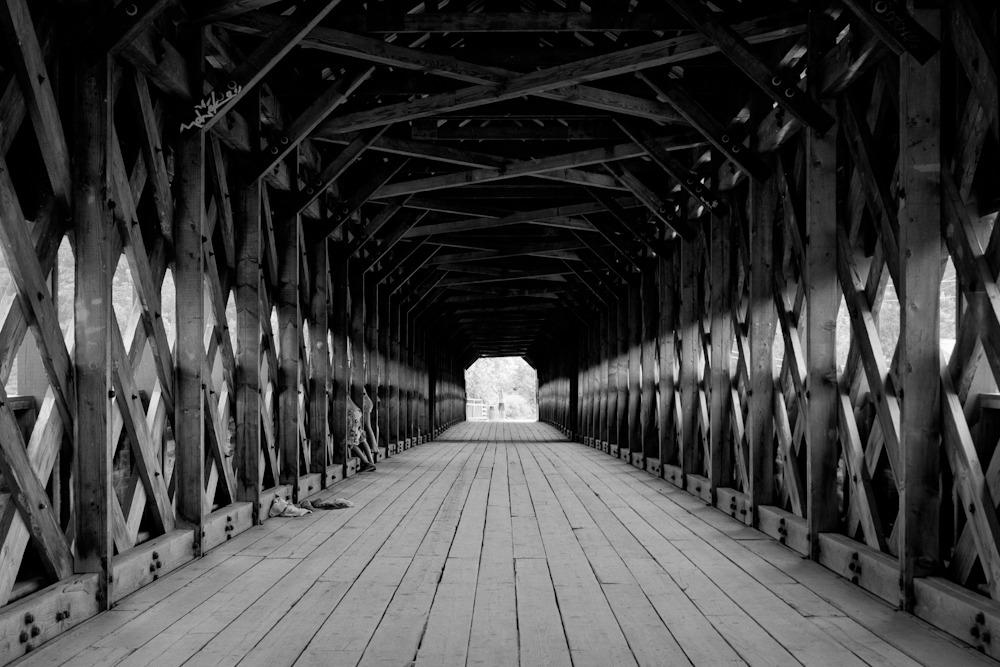 Covered bridge, Wakefield, QC