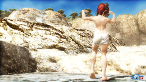 PSO2 - Location : Hot spring ©sega